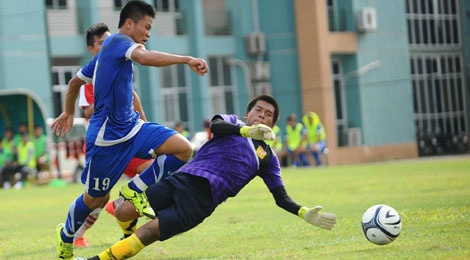 U19 Viet Nam thang U19 Lao 6-0 hinh anh