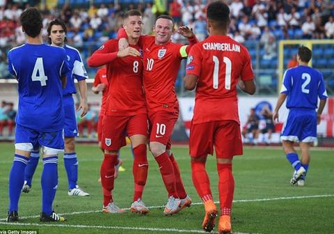 Rooney sanh ngang Sir Bobby Charlton hinh anh