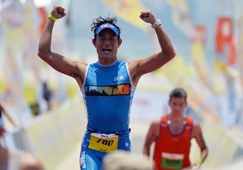 Ironman 70.3 Viet Nam - cuoc thi thu thach the luc cua VDV hinh anh