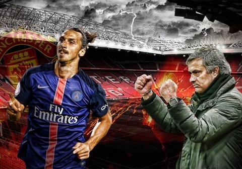 Ibrahimovic den MU lam tro ly cho Mourinho hinh anh