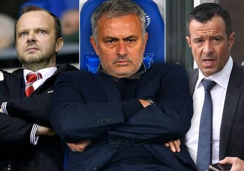 mourinho thay the van gaal dan dat mu hinh anh