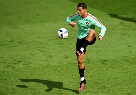 Ronaldo tich cuc tap luyen sau khi bi si nhuc hinh anh 1