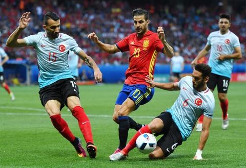 Cham diem Tay Ban Nha: Morata mang hinh bong Torres hinh anh 7