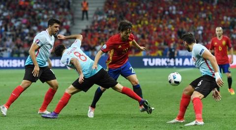 Cham diem Tay Ban Nha: Morata mang hinh bong Torres hinh anh 10