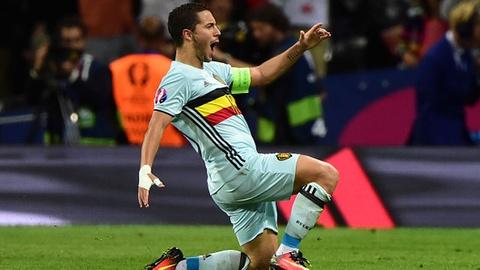 Bi vs Hungary (4-0): Hazard kien tao, ghi ban hinh anh