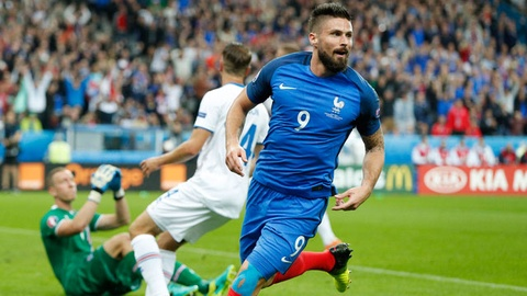 Phap vs Iceland (5-2): Giroud toa sang o tran mua ban thang hinh anh