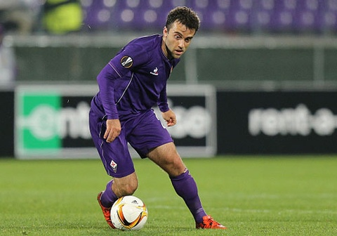 rossi lap hat trick cho clb fiorentina hinh anh