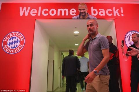Guardiola thua khi tro lai Bayern hinh anh 1