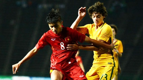 U16 VN mat chuc vo dich du dan truoc Australia 3-1 hinh anh