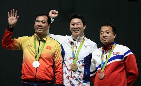 Hoang Xuan Vinh gay an tuong manh voi tam HCB Olympic hinh anh 1
