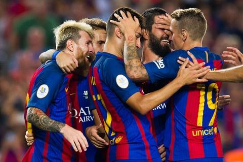 Thang chung cuoc 5-0, Barca doat sieu cup Tay Ban Nha 2016 hinh anh 9