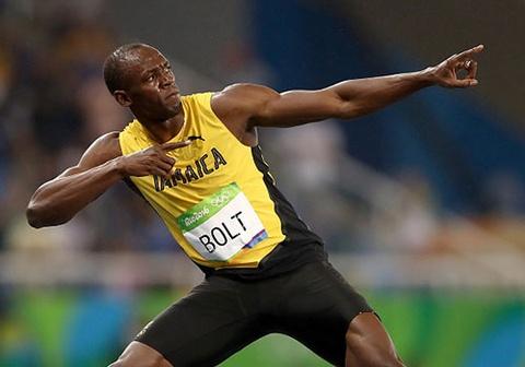 'Tia chop' Bolt khieu vu, lap ky luc gianh HCV Olympic 200 m hinh anh