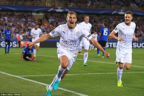 Leicester thang 3-0, dan dau bang o Champions League hinh anh 2
