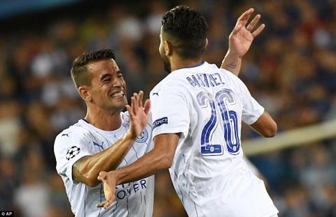 Leicester thang 3-0, dan dau bang o Champions League hinh anh 11