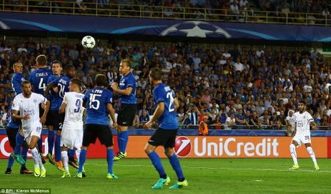 Leicester thang 3-0, dan dau bang o Champions League hinh anh 5