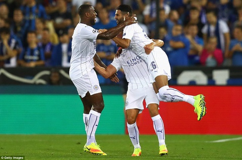 Leicester thang 3-0, dan dau bang o Champions League hinh anh 6