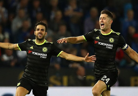 chelsea danh bai leicester 4 2 hinh anh