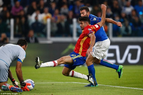 Buffon mac sai lam, Italy may man khong thua Tay Ban Nha hinh anh 4