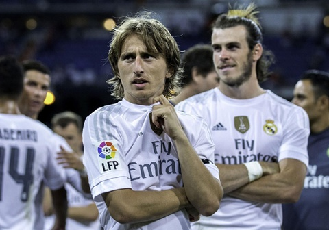 tien ve modric cham chi nhat o real hinh anh
