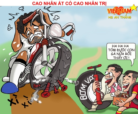 Biem hoa Thai Lan vung vay ao lang, VN vay chao di World Cup hinh anh 5