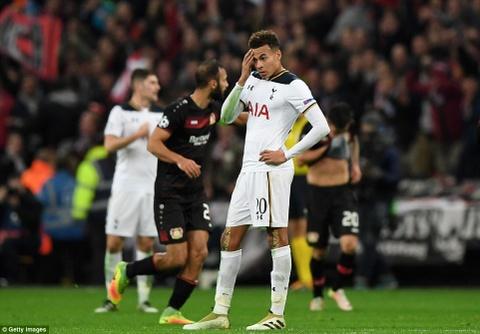 Doi cua Chicharito thang Tottenham o Champions League hinh anh 3
