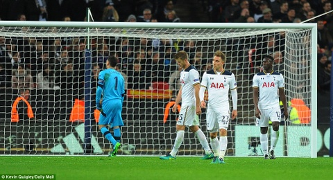 Doi cua Chicharito thang Tottenham o Champions League hinh anh 2