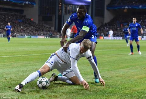 Leicester tiep tuc bat bai o Champions League hinh anh 6