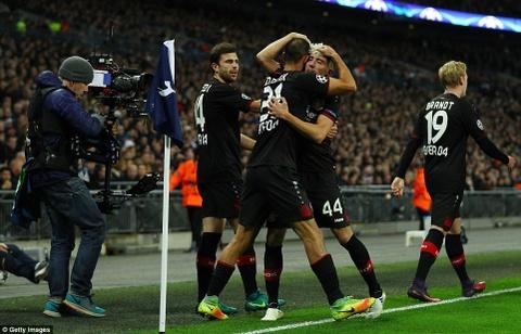 Doi cua Chicharito thang Tottenham o Champions League hinh anh 5