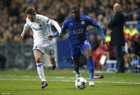 Leicester tiep tuc bat bai o Champions League hinh anh 9
