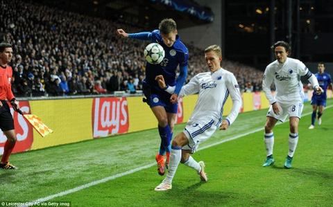 Leicester tiep tuc bat bai o Champions League hinh anh 11