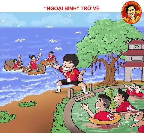 Hi hoa Viet Nam vao ban ket AFF Cup voi thanh tich lich su hinh anh 1