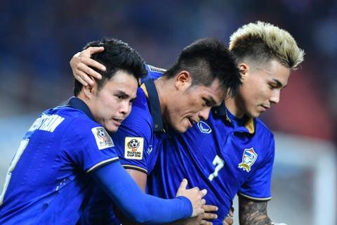 Thai Lan an ui cau thu Indonesia sau chung ket AFF Cup hinh anh 6