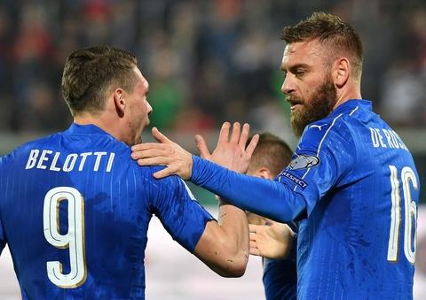 Buffon giu sach luoi trong tran thu 1000, Italy thang 2-0 hinh anh 7