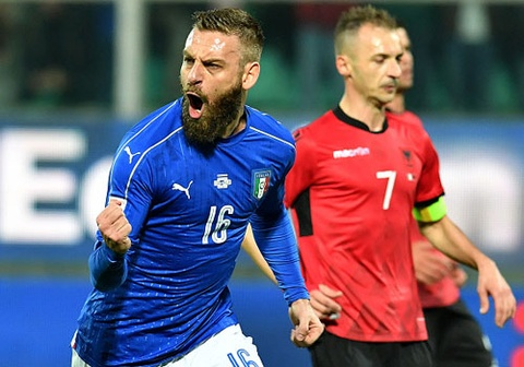Highlights DT Italy 2-0 DT Albania hinh anh