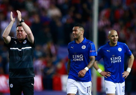 Leicester khong tu bo tham vong o Champions League hinh anh