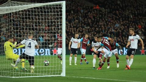 Tottenham hut hoi trong cuoc dua vo dich sau tran thua West Ham hinh anh 4