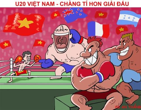 Hi hoa chang ti hon U20 Viet Nam dau nhung ga khong lo o U20 World Cup hinh anh 10
