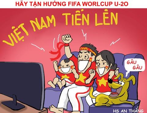 Hi hoa chang ti hon U20 Viet Nam dau nhung ga khong lo o U20 World Cup hinh anh 11