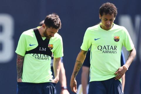 Messi va Neymar buon ba truoc chung ket cup nha vua hinh anh 1