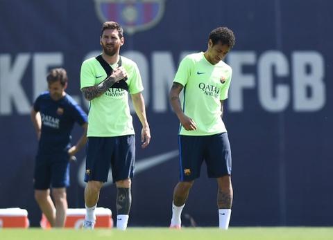 Messi va Neymar buon ba truoc chung ket cup nha vua hinh anh 3