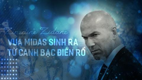 Zinedine Zidane, vua Midas sinh ra tu canh bac dien ro hinh anh 1