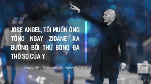 Zinedine Zidane, vua Midas sinh ra tu canh bac dien ro hinh anh 3