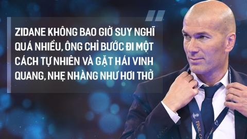 Zinedine Zidane, vua Midas sinh ra tu canh bac dien ro hinh anh 10