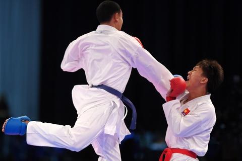Thang ap dao doi thu Thai Lan, karate VN gianh 2 HCV hinh anh 7