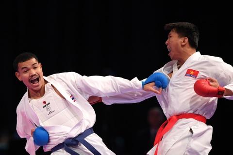 Thang ap dao doi thu Thai Lan, karate VN gianh 2 HCV hinh anh 10