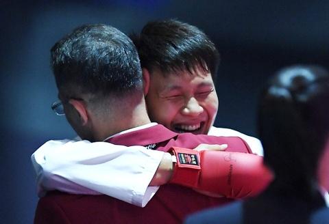 Thang ap dao doi thu Thai Lan, karate VN gianh 2 HCV hinh anh 14