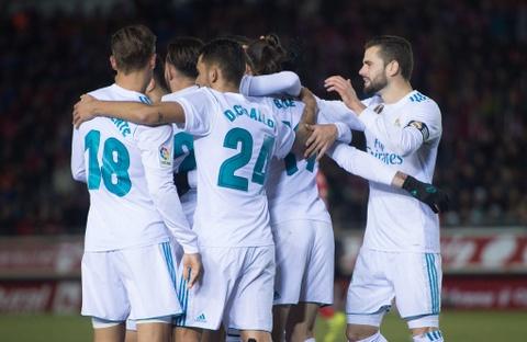 Bale va Isco sut 11 m ghi ban, Real mo dau nam 2018 bang chien thang hinh anh 8