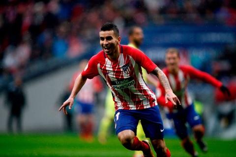 Diego Costa ghi ban va nhan the do trong tran Atletico thang 2-0 hinh anh 9