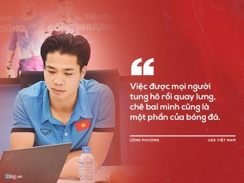 Cong Phuong: CDV tung ho roi quay lung che bai la mot phan cua bong da hinh anh 5