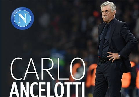HLV Ancelotti chinh thuc dan dat a quan Serie A hinh anh
